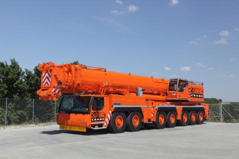 HC500 Model: Liebherr LTM 1400-7.1